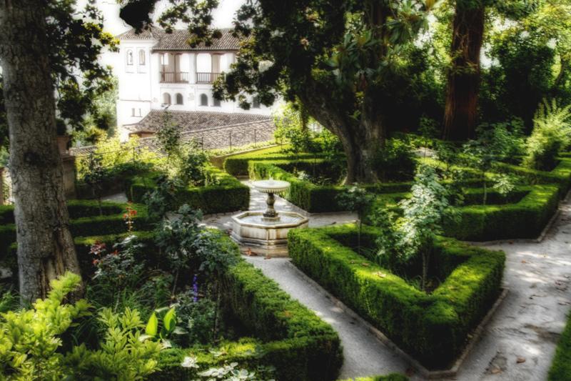 Jardines altos for Jardines de gomerez granada