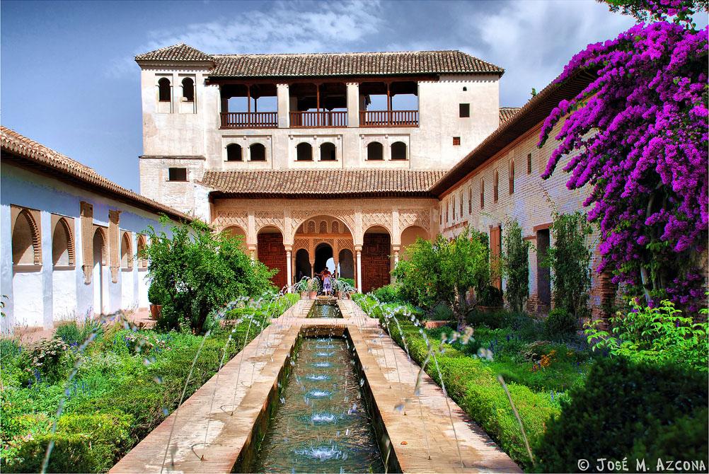 Palacio del generalife for Jardines nazaries