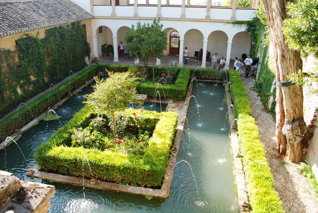 Im genes y fotos del generalife for Jardin de la reina granada